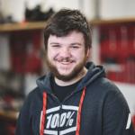 Jannik Giger, Lernender Motorradmechaniker